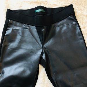 Leather Pants Polo Ralph Lauren